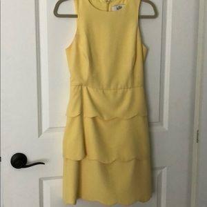 Yellow Badgley Mischka Dress Sz 2